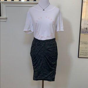 NWT Lululemon Yoga Haven Skirt size 6 black
